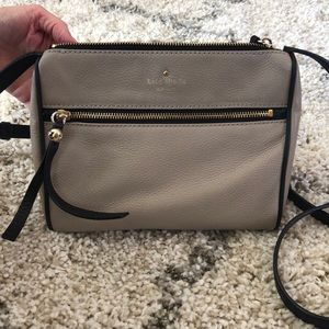 KATE SPADE LIGHT BROWN CROSSBODY